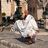 Handmade tableclothes have long been a tradition in Perast