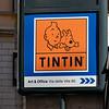 Tintin Art & Office sign - Mercedes favorite childhood comic