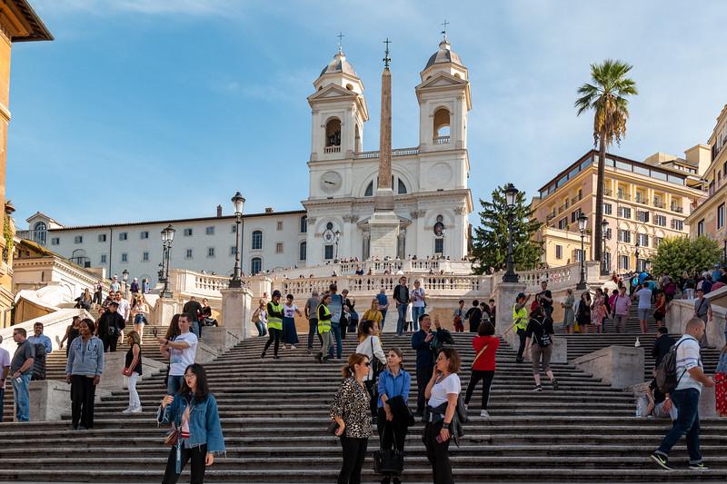 Rome - Spanish Steps - October 22, 2019