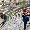 Jadranka, our guide for Pula in the Arena