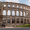 Pula - The Arena - constructed 27 BC - 68 AD
