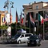 International flags - Piazza Tasso
