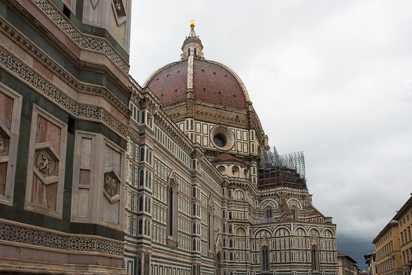 Exterior walls of the Florence Cathedral