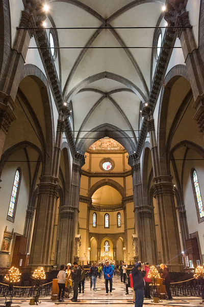 Interior of Florence Cathedral