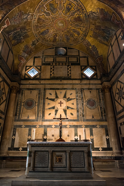 Interior of the Baptistry