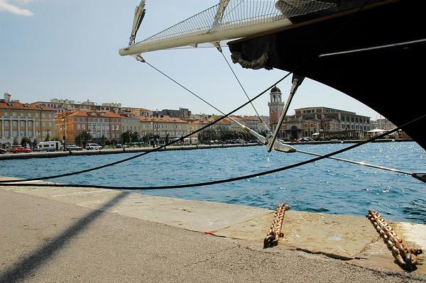 Triest harbour