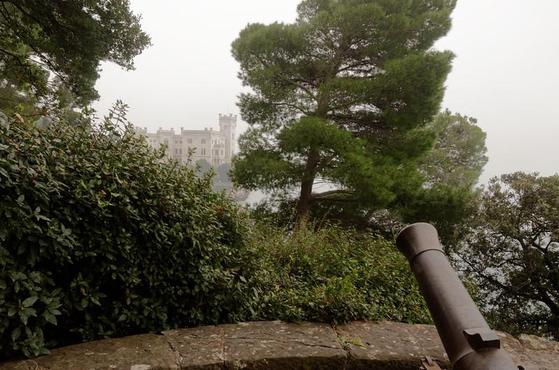 Castello di Miramare, castel of Ferdinand Maximilian of Habsburg
