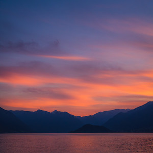 Sunset at Como