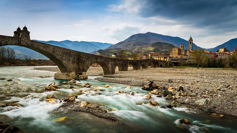 Trebbia river / Bobbio, Italy