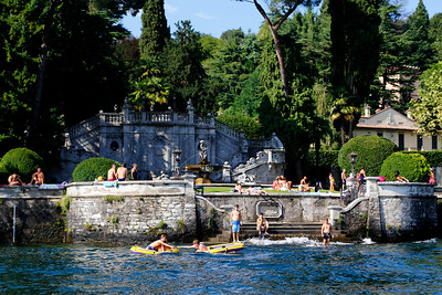 Lake Como - Summer Swimming
