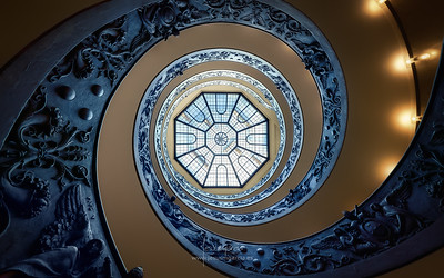 Vatican Staircase - Italy