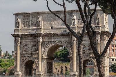 Rome - Arch of Constatine -1