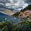Stormy skies / Varenna, Italy