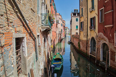 Venice -  Side Canal-6