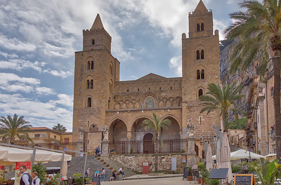 Sicily , Cefalu - Cathedral of Cefalu -2