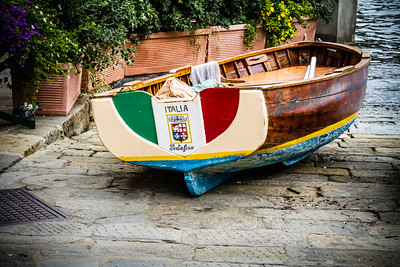 Rowboat  in Portofino