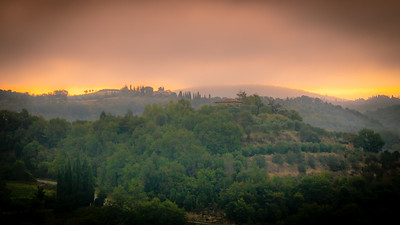 Tuscany at dawn