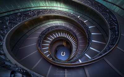 Bramante Staircase - Vatican Museums