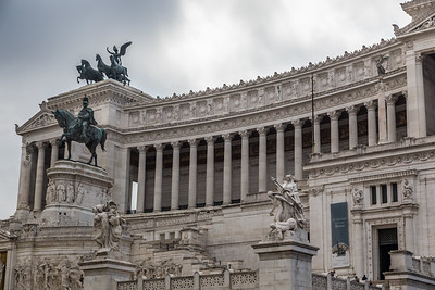 Rome - National Monument to Victor Emmanuel II -6