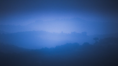 Tuscany in Blue