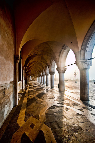 Doge's Palace, dawn