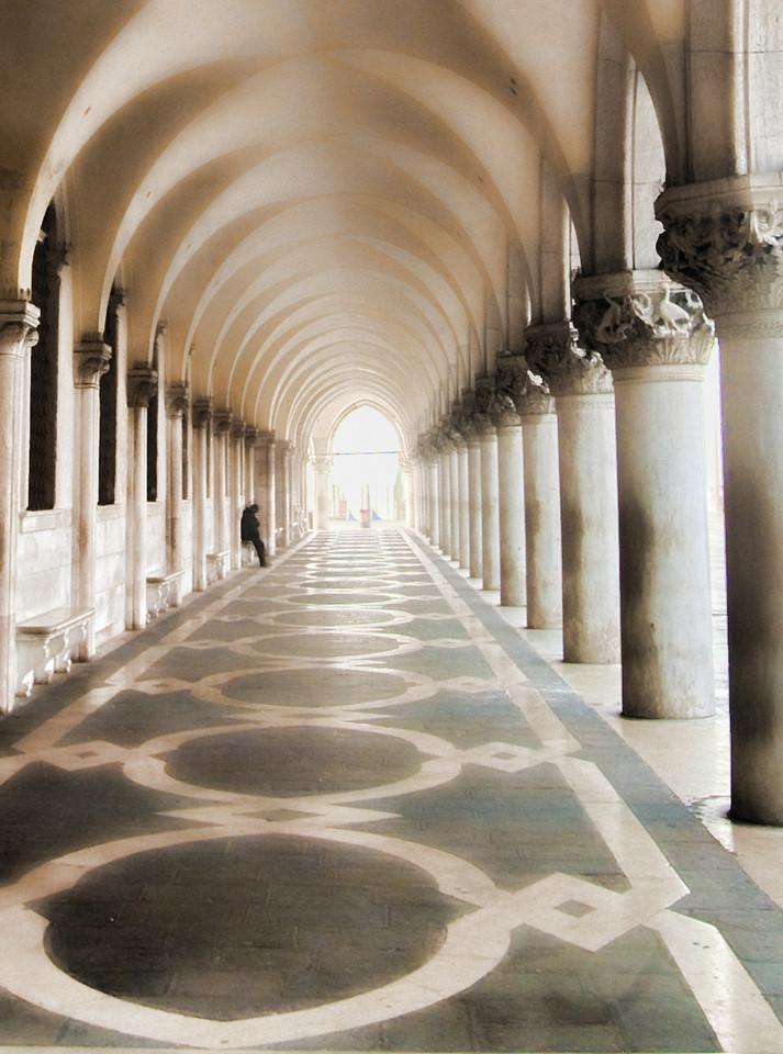 Early morning, St. Marks Palace, Venice