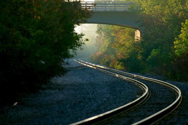 rhythm of the rails ~ Huron River Watershed, Michigan