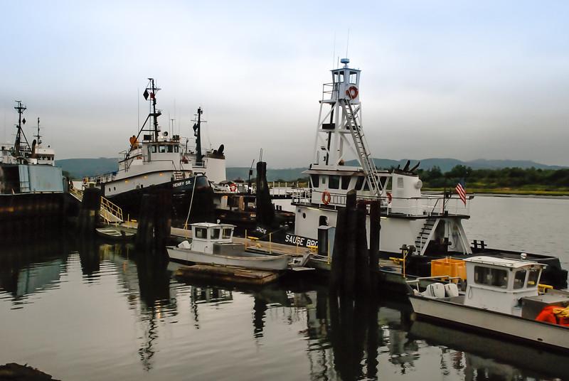 fishing boats ~ Pacific Coast