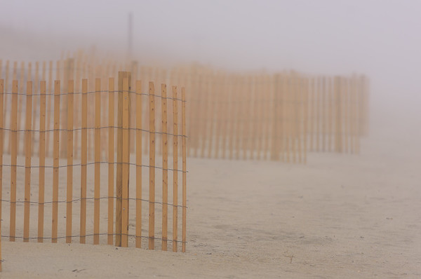 Foggy Dunes ~ Emerald Isle, North Carolina