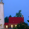 morning Tawas Point Light, in operation since 1876 ~ Lake Huron