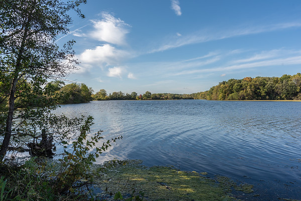 River in October ~ Huron River and Watershed