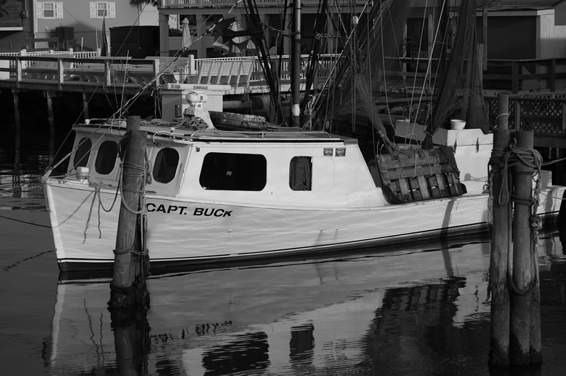 Captain Buck ~ Shrimping ~ Southern Outer Banks