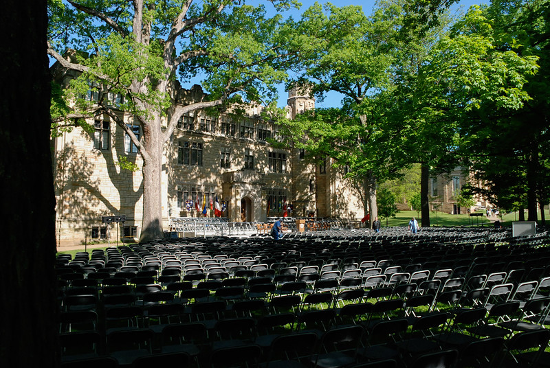 Before the Ascension ~ Commencement 2007, Samuel Mather Hall, Kenyon College, Ohio
