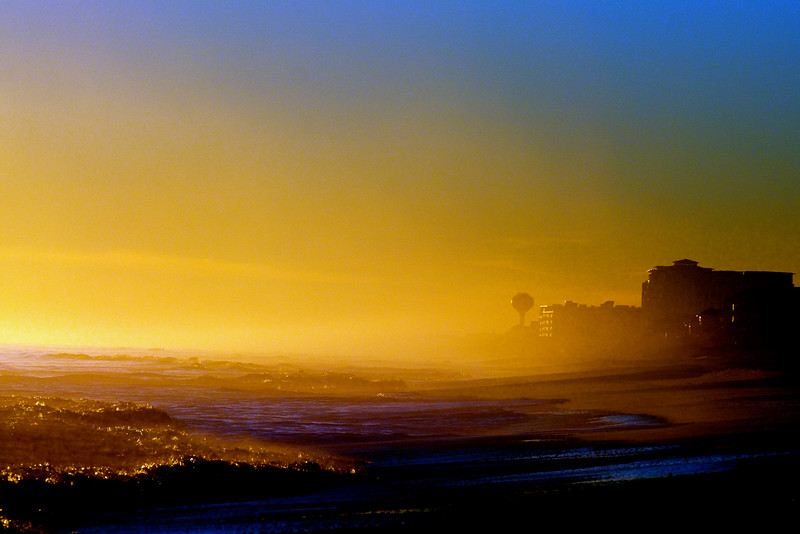 misty island evening ~ Southern Outer Banks