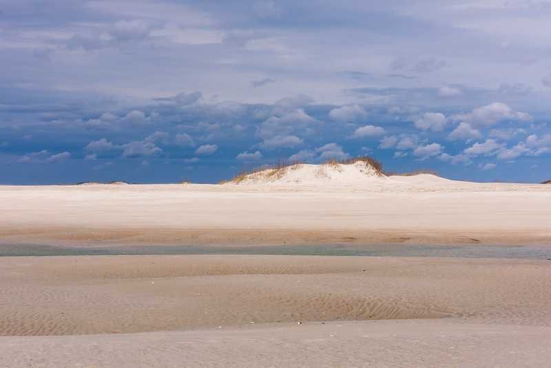 Tide Pool, Sand Dune and Clouds ~ Eastern Seaboard