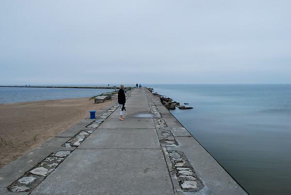 The Pier ~ Lake Michigan