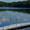 Maine green and blue ~ Hancock Pond, Maine