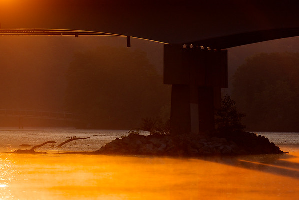one morning by the river ~ Huron River, Michigan