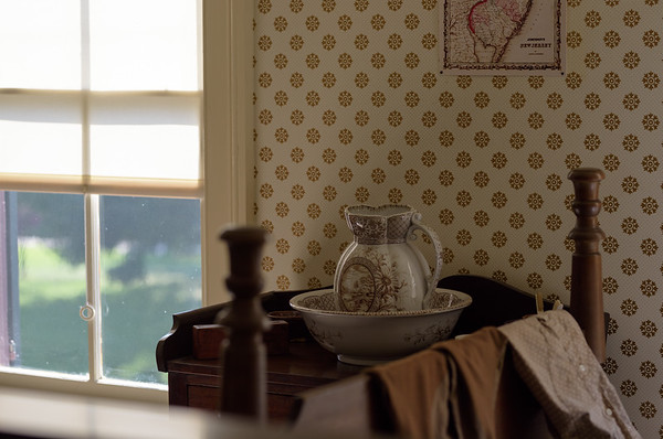 Washstand, Sarah Jordan Boarding House, currently, Greenfield Village