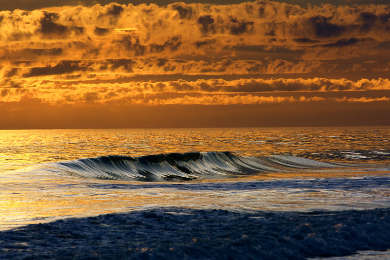 golden hour weather over the Atlantic ~ Southern Outer Banks