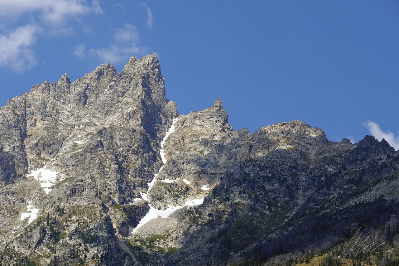Textures of the Tetons