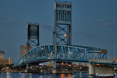 JAX Dwntn Main St Bridge Dusk-1