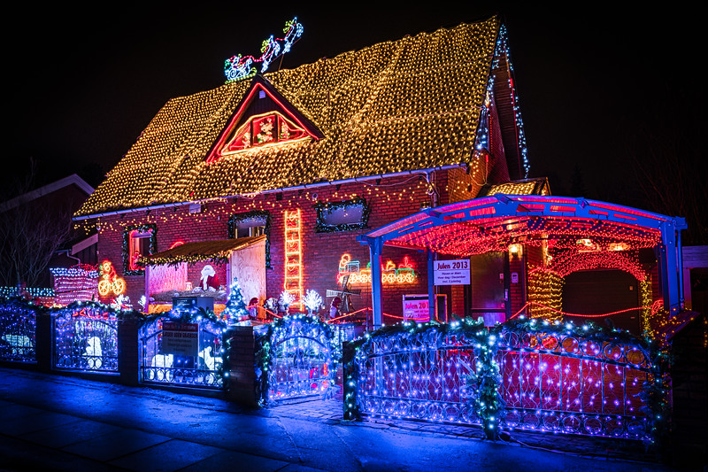 Crazy Christmas House