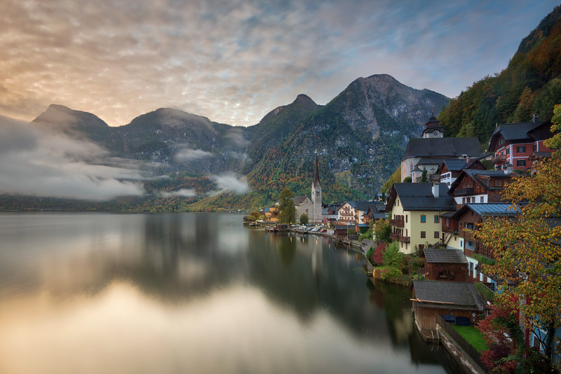 Hallstatt in the morning