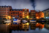 Smoke above Christianshavn Canal