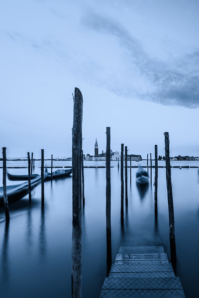 Blue Hour and No Gondolier