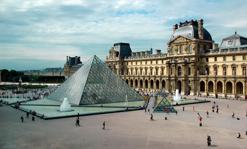 The Louvre In Paris