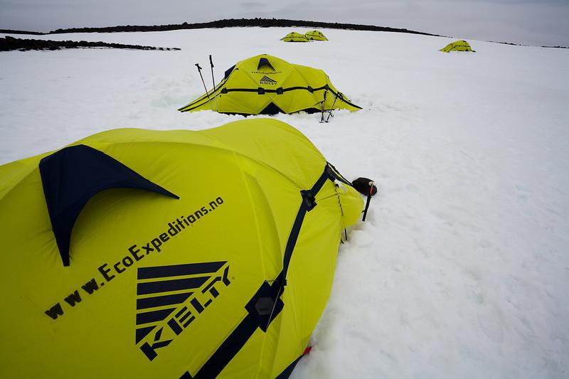 High Camp on the Beerenberg, Jan Mayen