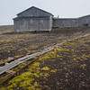 "The ruins of ""Gamlemetten"", the old norwegian meteorological station, Jan Mayen"