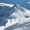 Climbing group near the main summit of Beerenberg, Jan Mayen
